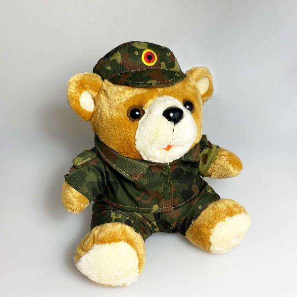 Bundeswehr Teddy- Militär Camouflage Wald