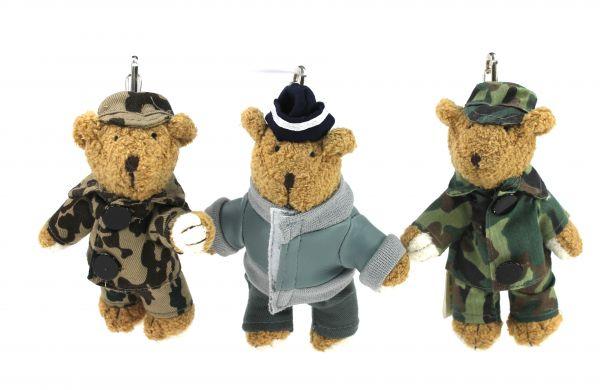 Bundeswehr Teddy Schlüsselanhänger
