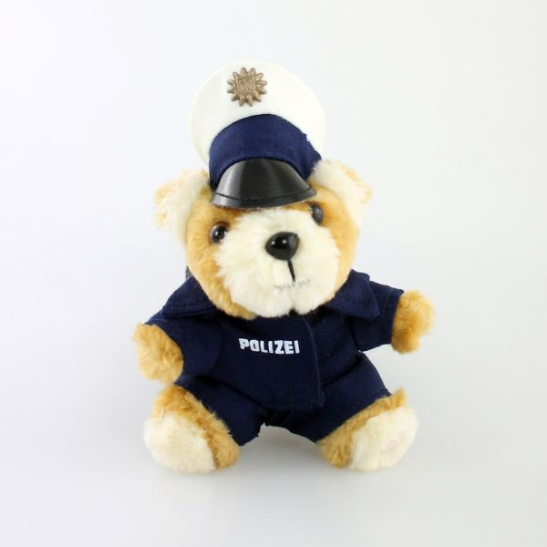 Polizei Teddy Schlüsselanhänger
