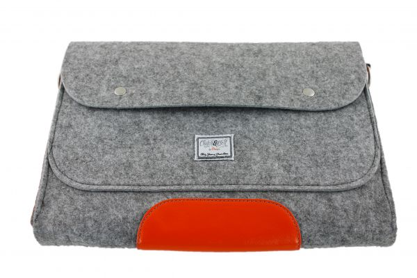 "Laptop-/Tragetasche ""Clutch & Belt"" by orango"